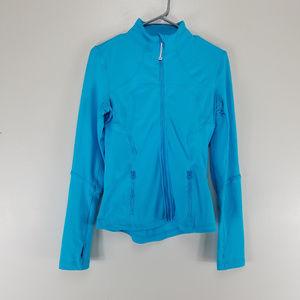 Lululemon Forme Zip Up Jacket Spry Blue